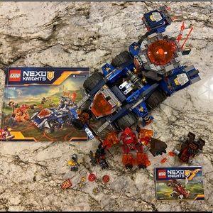 Lego Nexo Knights Axl's Tower & Crust Smasher Sets